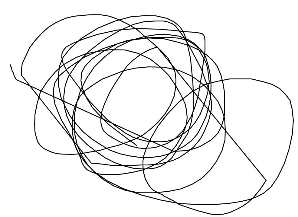 ペイントで円描き